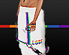 Stem Pride Pant White
