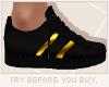 x3' Sneaker | Gold