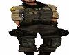 completo militare uomo