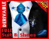 !D King Suit&Shoes SBlue