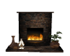 BB Saloon Fireplace