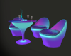 Neon Club Table/Chairs 4