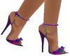 Neon Crystal Heels