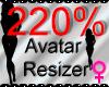 *M* Avatar Scaler 230%