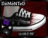 Demented Bfly Converse