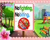 no fighting kids sign