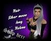 Hair Silver Moon Helena