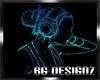 [BGD]Neon Girl Dj-Anim.