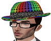 Rainbow suit hat