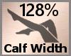 Calf Width Scale 128% FA