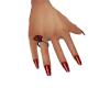 Red Nails Slender