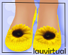 Kids sunflower shoes