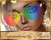 I~Rainbow Heart Glasses
