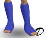 Casts on both legs mesh