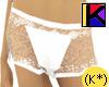 (K*) Hot Pants white