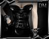 [DM] Buckle Latex Dress