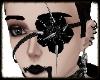 Skull Spike Rose Eyepatc