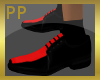 Black & Red Dress Shoes