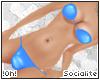 !0h! PVC Bikini |Blue