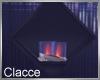 C wall triangle fire