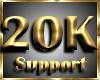 © 20K Support Sticker