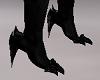 Black Monster Devil Feet