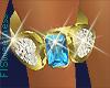 FLS MAR Birthstone Ring