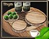 Tri-wood Drink Tray 2