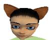 (na)Brown Wolf Ears