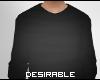 D| Male Black Sweater