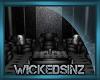 Black Skull Club Chairs