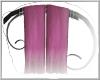 lux purple drapes