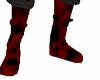 red warrior boots