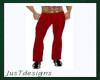 JT Dk Red Tux Pants