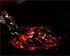Lava Dragon floor light