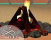 Beach Camp Bonfire