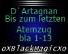 D`Artagnan  Atemzug