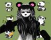 Panda Hair [F]