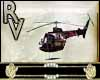 Helicopter black and red