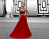 Red & Silver Gown