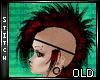 :B Red Mohawk
