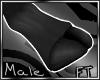 (M)Blk Addax Feet[FT]
