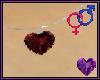 Garnet Heart Necklace