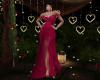 Elegante Fuschia Gown