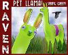 SPRING GREEN PET LLAMA!