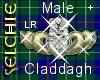 *S Claddagh M LR+