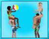 Ball Beach Animated Pose