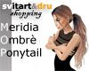 Meridia Ombrè Ponytail