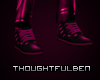Leather Hot Pink Shoes