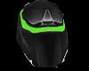 Tron Legacy helmet green